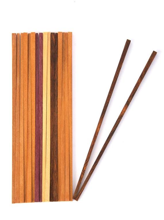 chopsticks of cocobolo wood