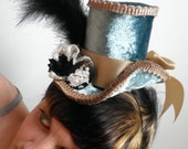Petite Riding Hat/Facsinator for formal, wedding or everyday wear- Versailles