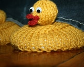 Rubber Ducky Slippers for Grownups