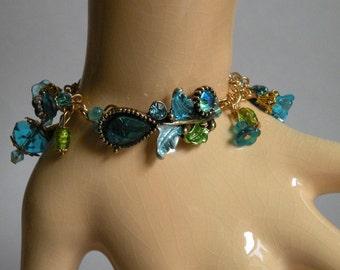 Aqua Garden Bracelet