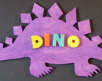 Name Plaque -Dinosaur