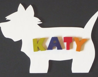 Name Plaque -Westie