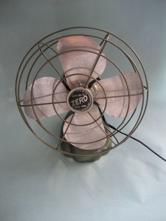 cool metal fan