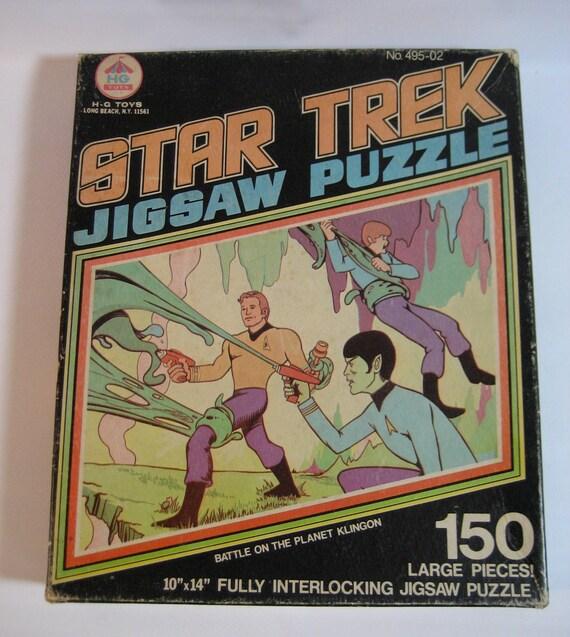 ON HOLD attention Trekkies:  vintage Star Trek jigsaw puzzle