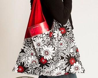 Criss Cross Bag Easy PDF Sewing Pattern - By BlissfulPatterns