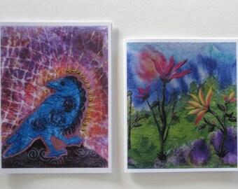 8 greeting card set