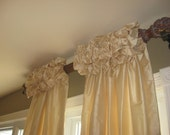 Gorgeous Ruched Top Drapes up to 100 inchs Long  Single Width