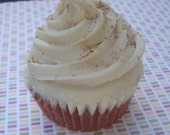 Snickerdoodle -Frosted Cupcake Candle