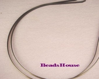 20%off: HB-05Ant  ( 3mm)  2pcs  HeadBand Antique Bronze with Bent end -Nickel Free
