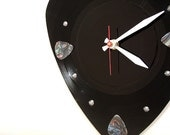 Guitar Pick Record Clock - Pick your own Pick color