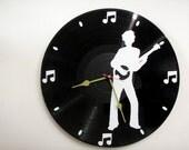 Banjo Man Album Wall Clock   olyteam