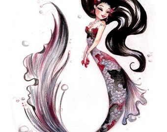 Silver Koi Fish fine art print