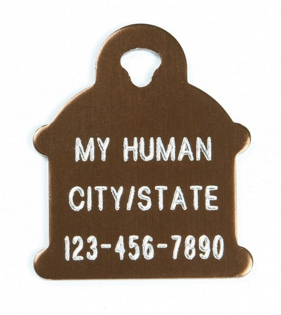 Pet Tag Sale Personalized on Two-Sided Small Hydrant in 10 Colors