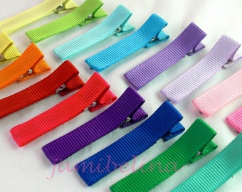 UPICK SEVEN (7) Simple Hairclips - available  in a Rainbow of Colors