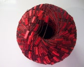Red Ladder Ribbon Yarn by Ice Yarns Ready to Ship