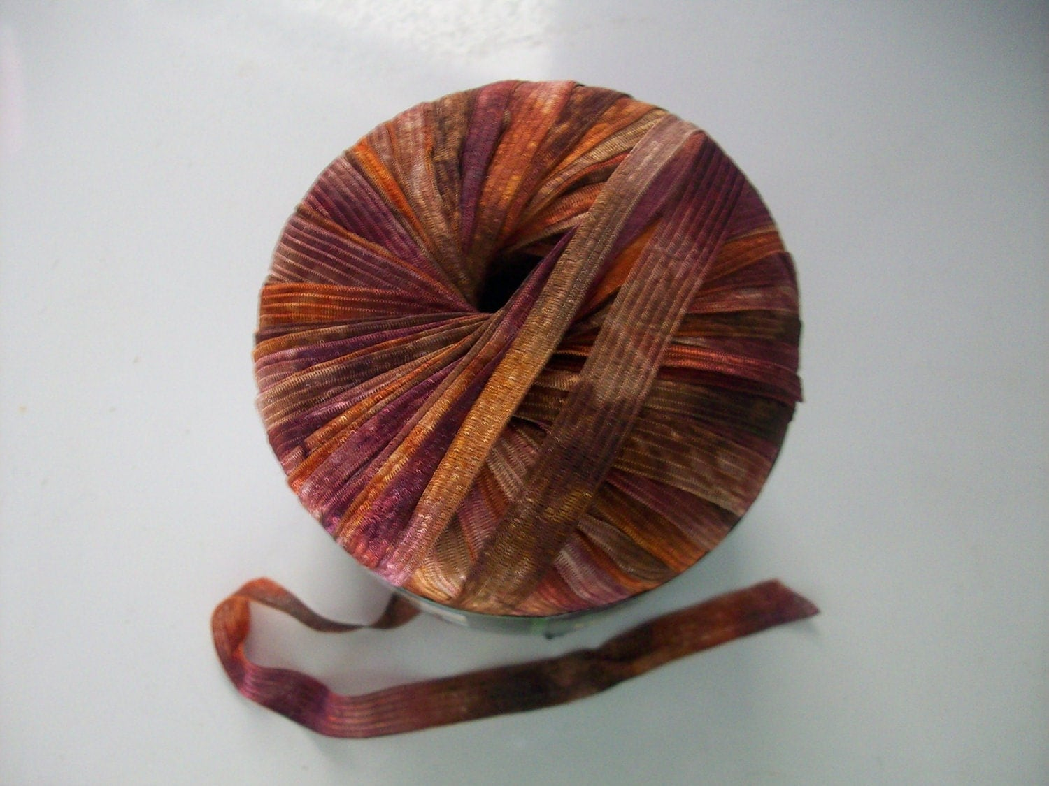 Ribbon Yarn : New Lion Brand Incredible Ribbon Yarn Autumn Leaves by CraftEZ