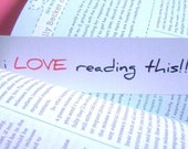 Bookmarks, Set of 3 - I Love Reading This