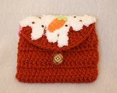 Yummy Carrot Cake Coin/Money Purse