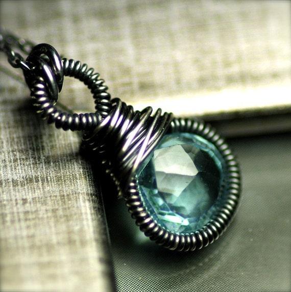 LAST ONE...Sky Blue Topaz Necklace