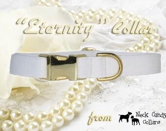 Eternity,,,,,Custom Wedding Dog Collar