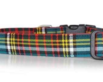 Anderson Tartan , Authentic Scottish Tartan Dog Collar
