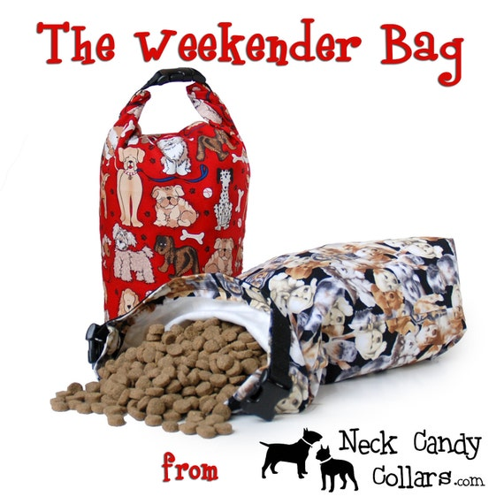 The Weekender Bag,,, for dog food on the go