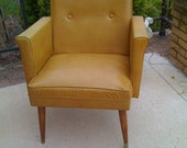 A pair retro vintage mid century danish modern arm chairs price includes custom upholstery service