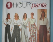 Simplicity sewing pattern for 1 hour pants / trousers - unused