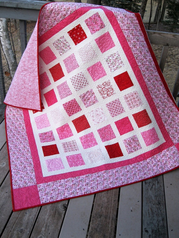 SALE - 20% DISC Simply Always and Forever 54x60 lap quilt