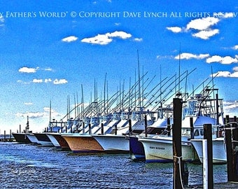 Small Craft Warning - OBX Oregon Inlet  NC - Fine Art Photography print by Dave Lynch - Free Shipping on any additional purchase