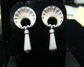 Sterling Silver etruscan style earrings