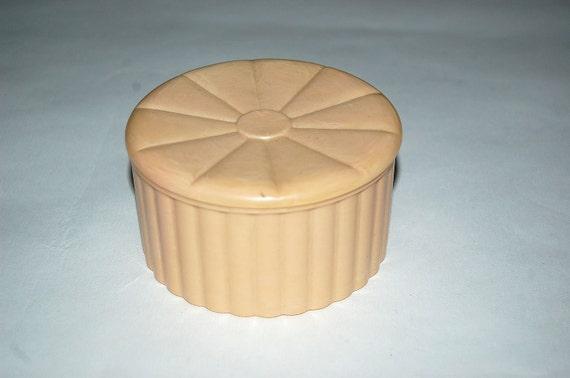 Vintage 1950s plastic Vanity box RESERVED FOR B