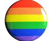 1 inch Rainbow Flag Pin
