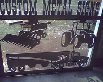 Large Personalized Farm Sign (DeWitt)