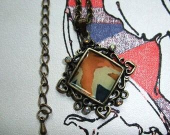 Vintage Union Jack Necklace