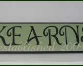 Irish Themed Personalized Family Name Sign