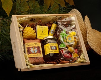 Cardamom Cinnamon Beehive gift basket by Queen bee honey in Massachusetts