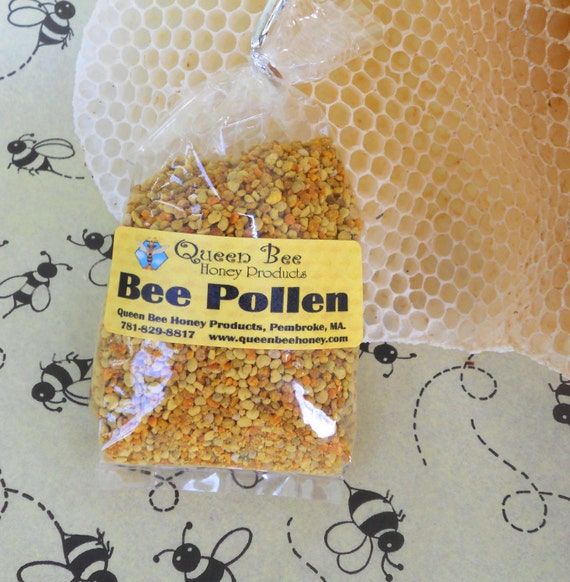 Two bags of Bee Pollen from Queen Bee Honey Products