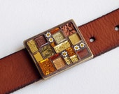 Honey and Cinnamon - Mosaic Buckle - Trencadis
