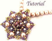 Let It Bloom pendant - Beading pattern PDF