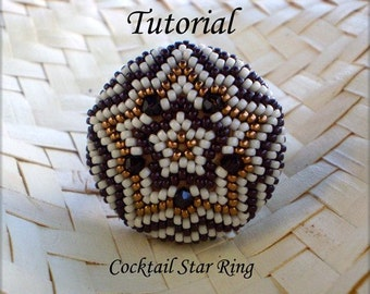 TUTORIAL Cocktail Star Ring