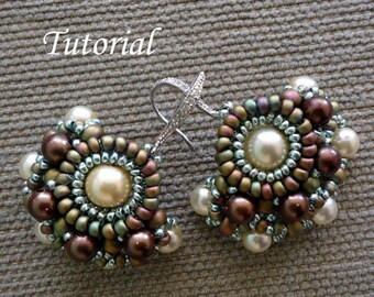 Tutorial Chiquita Earrings - Bead patterns