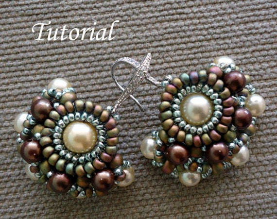 Tutorial Chiquita Earrings - Bead patterns