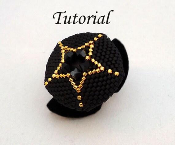 Tutorial Your Own Star Ring - Beading pattern pdf