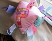 Baby Block Sensory Soft Play Ribbons Toy