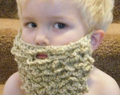 Crochet Beard - Customize for your costume