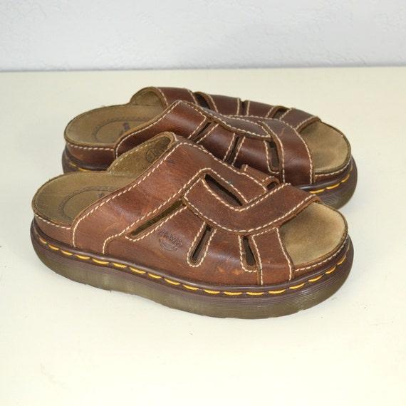 dr martens sandals leather air wair us 5. Black Bedroom Furniture Sets. Home Design Ideas