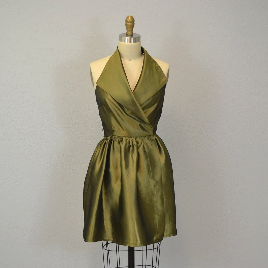 Olive Green Cocktail Dresses - Evening Wear
