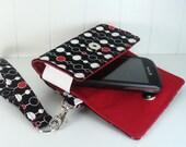The Errand Runner - Cell Phone Wallet - Wristlet - Bead Chain