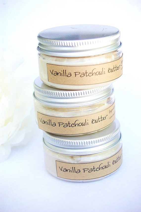 Vanilla Patchouli Whipped Shea Butter - Body Butter